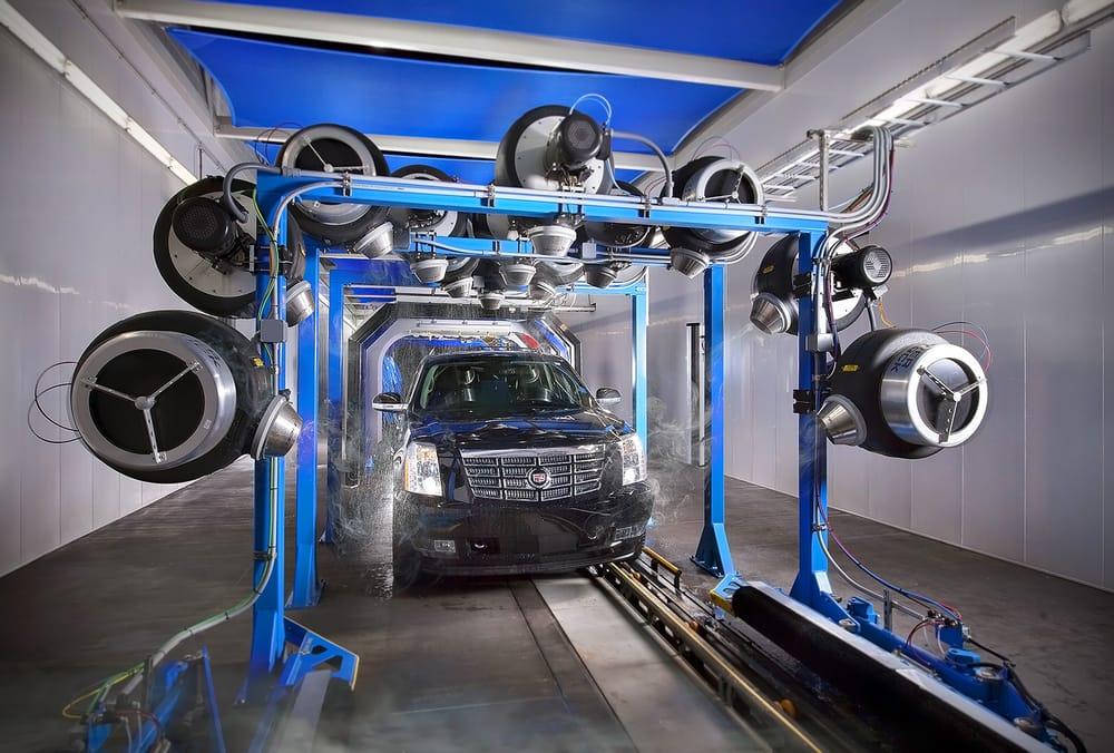 machine car wash near me