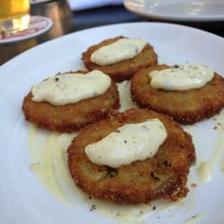 Franny's - Fried green tomatoes - Brooklyn, NY, Vereinigte Staaten