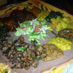 Abyssinia Market Cafe Ethiopian Restaurant Denver Co