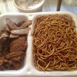 Mittagsgericht: Ente mit Szechuan-Sauce…