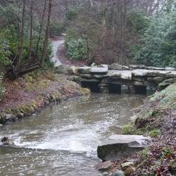 Bridge next to the Cascade