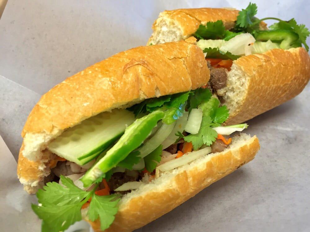 Banh Mi With Lemongrass Pork Recipes — Dishmaps