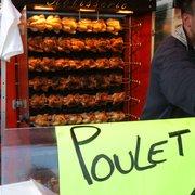 Le marché et ses poulets...