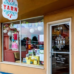 Yarn - Eureka, CA, États-Unis. The outside of Yarn at the new location.
