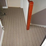 Striped Stair Carpets