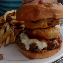 Boulevard Burger & Tap - Denver, CO, États-Unis. Buffalo burger