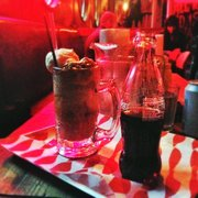 Bourbon Coke float!