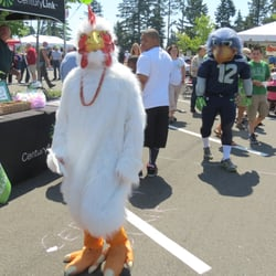 America's Credit Union - ACU BBQ Wing eating contest2. - University Place, WA, Vereinigte Staaten