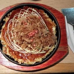 Aki - Paris, France. Okonomiyaki au porc