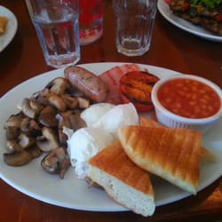 English Breakfast at Cafe Acoustic.