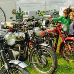 Rye Hamstreet Classic Motorcycle Events, Ashford, Kent