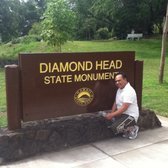 Diamond Head State Monument - Ready to hike! - Honolulu, HI, Vereinigte Staaten