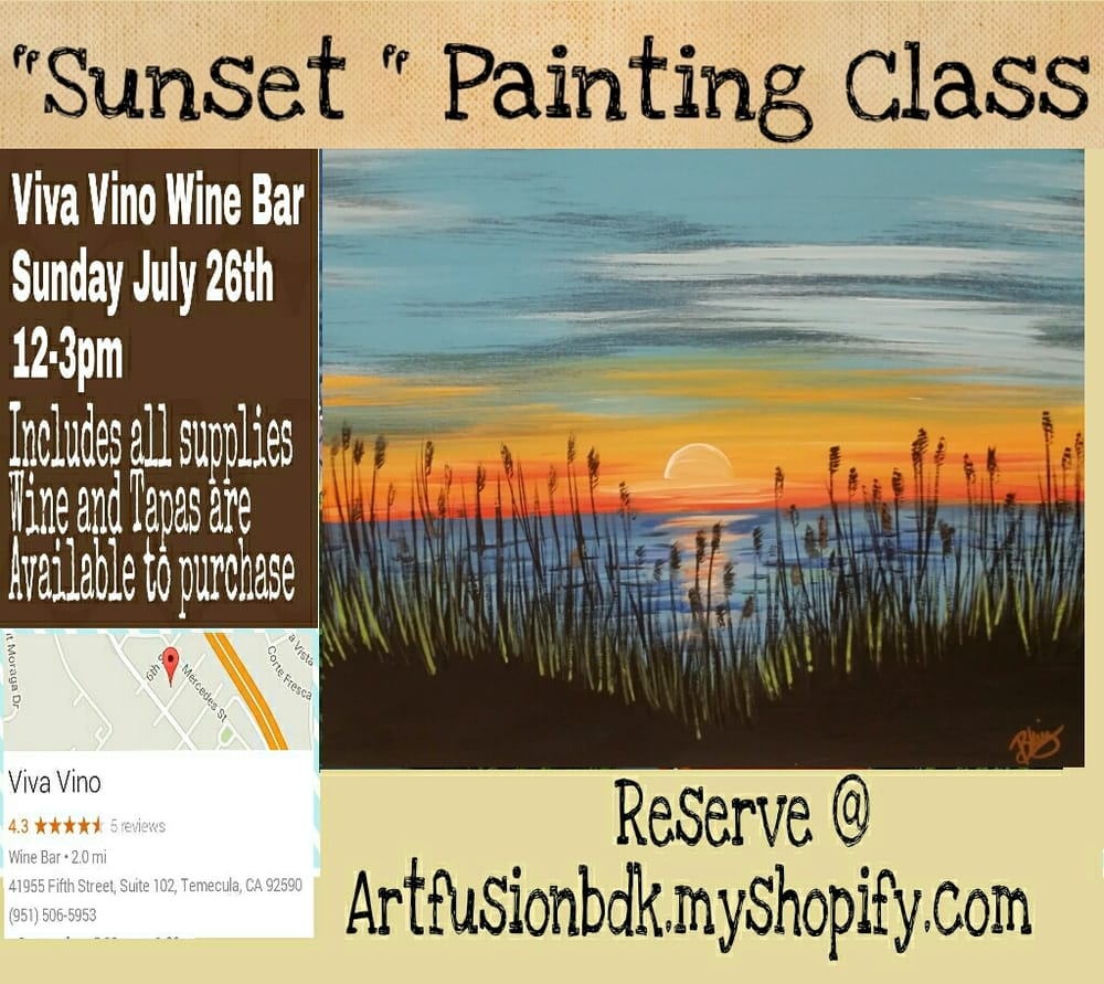 Artfusion bdk paint sip temecula ca photos yelp for Paint and wine temecula