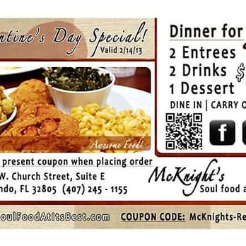 Mcknight S Soul Food At Its Best