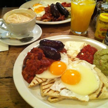 The Breakfast Club - Huevos rancheros, yum! - London, United Kingdom