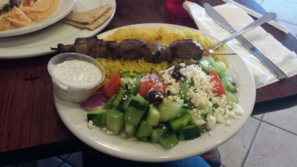 Yakima (WA) United States  city pictures gallery : Kabob House Yakima, WA, United States. Beef souvlaki.