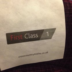 First class all the way home