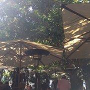 Restaurant La Villa - Marseille, France. La terrasse