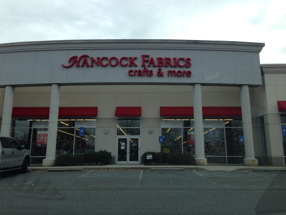 Hancock fabric fabric stores buford ga reviews for Fabric outlet near me