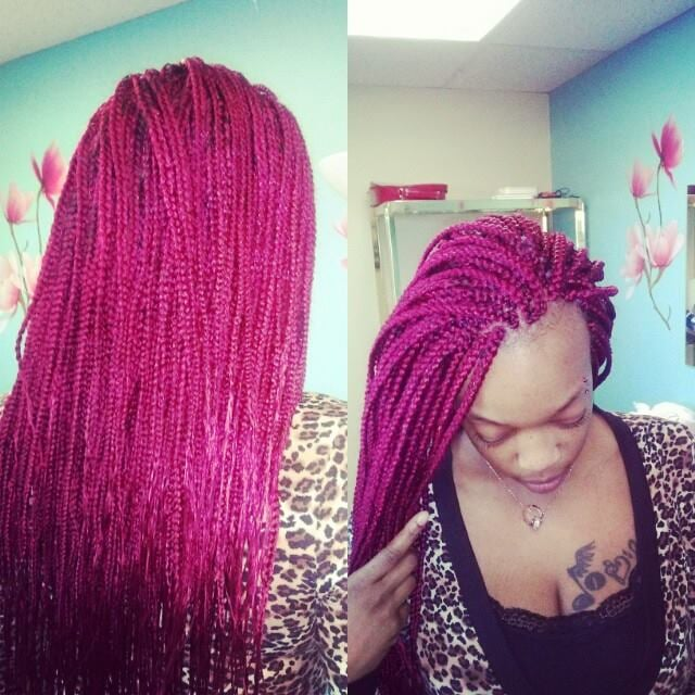 Box Braids Etc On Pinterest Faux Locs Box Braids And