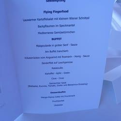 Hochzeits-Menu im Osman - Köln