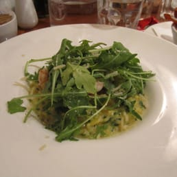 lemon risotto with rocket