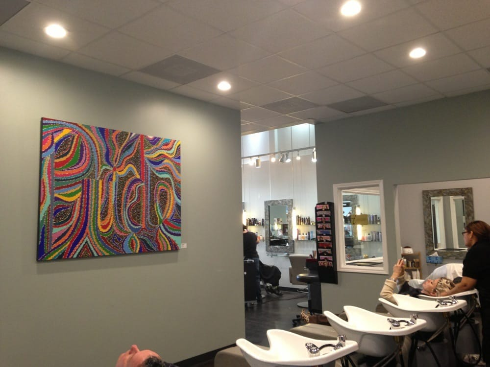 Dall Hair Salon - Houston, TX, United States. Shampoo area and nails ...