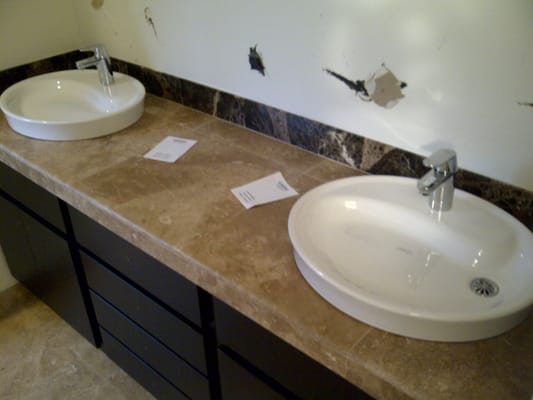 We install all types of bathroom sinks and faucets yelp for Different types of sinks