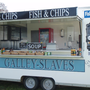 Fish and chip van Suffolk.