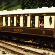 Pullman Car 64 on the Bluebell Railway