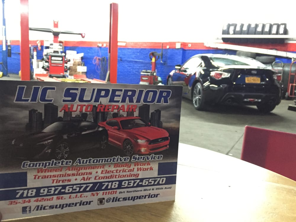Auto Body Repair Long Island City