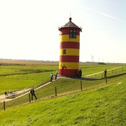 Pilsumer Leuchtturm, Krummhörn, Niedersachsen