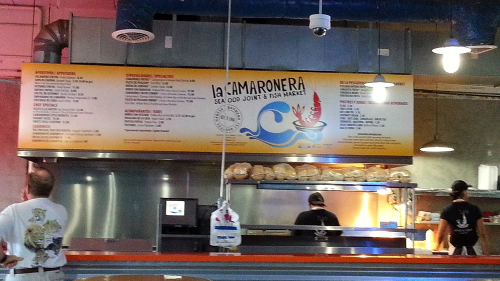 Could eat here everyday but unfortunately their hours for Fish market hours