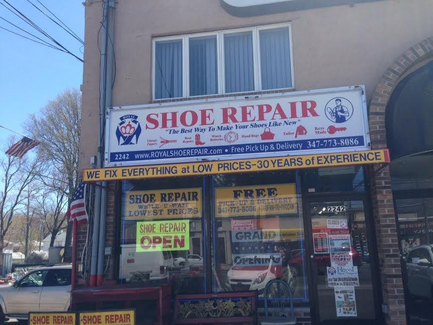 Royal Shoe Repair Staten Island