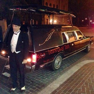 Ghost Tours Savannah Ga Hearse