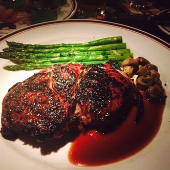 Mike's American Grill - Drunken rib eye steak never disappoints ...