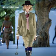 Tweed 3-piece on the catwalk at…