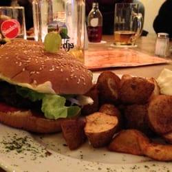 der Zweistein-Burger mit Biofleisch ist…