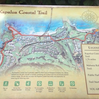 Kapalua Coastal Trail