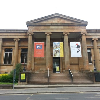 Front of the Paisley Museum And Art Gallery.