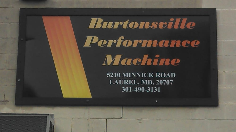 burtonsville machine