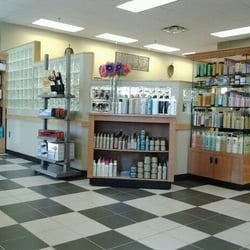 Navy Exchange Salon & Day Spa - Reception Area and Product Bar ...