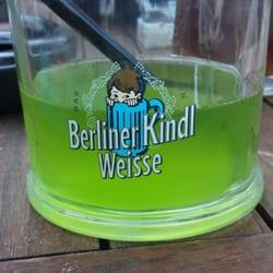 Berliner Kindl Weisse grün