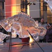 Sculptures Glaces aux Nefs, Nantes