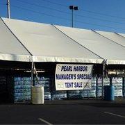 Navy Exchange - tent sale - Honolulu, HI, United States