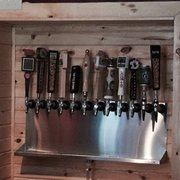 Gastro 49 - Chesterton, IN, États-Unis. Craft beer taps
