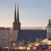 Marktkirche fotografiert aus einem…