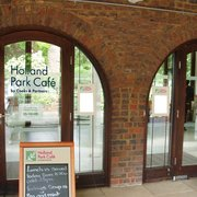 Holland Park Cafe, London