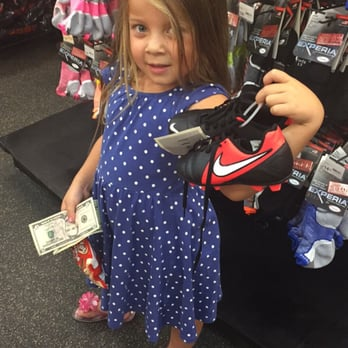 Sports Authority - Canoga Park, CA, United States. Getting the niece her new