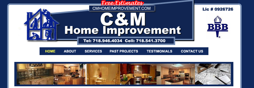 C m home improvement contractors bath beach brooklyn for Home by m